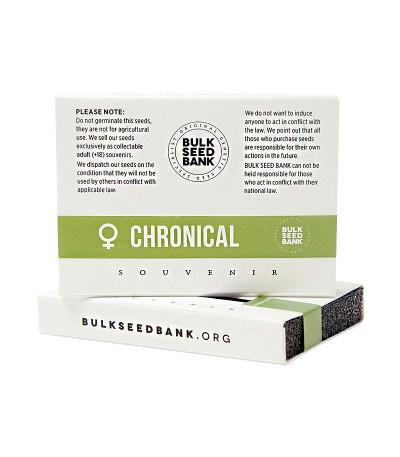 Семена каннабиса Chronical в оригинальной упаковке